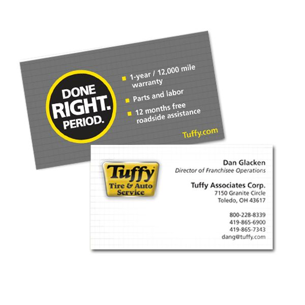 The best in business card options both paper and magnetic 2 sided full color 14pt glossy business card colourmoves