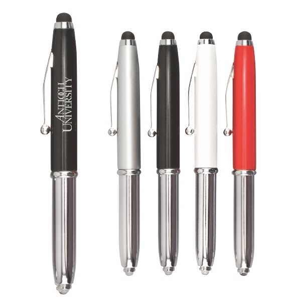 iwrite touch free stylus with led and pen