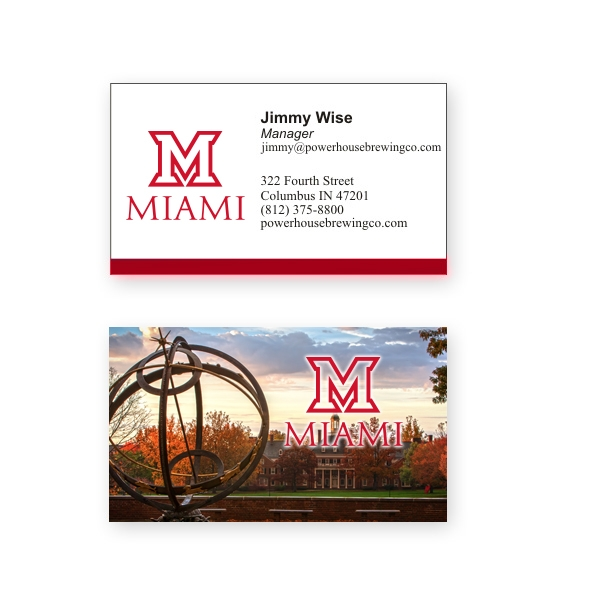 2 sided full color 14pt glossy business card reheart Choice Image