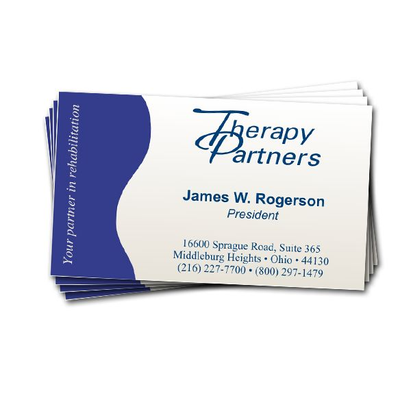 1 sided full color 14pt glossy business card reheart Choice Image