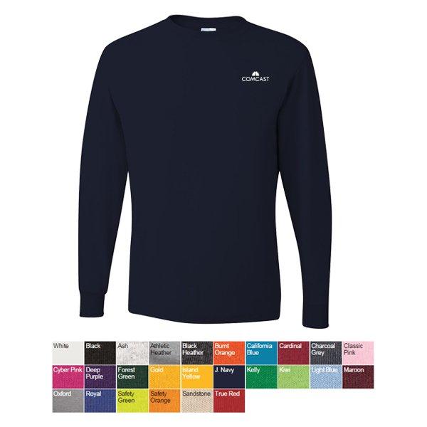 Jerzees Dri Power Active Long Sleeve 50 50 T Shirt