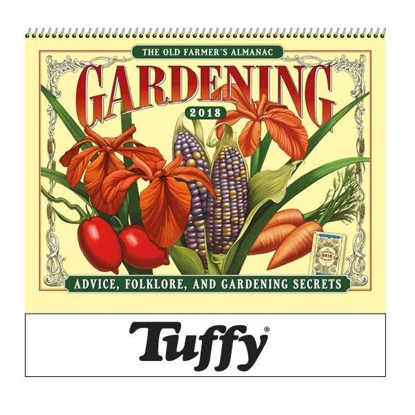 2017 Old Farmers Almanac Gardening Wall Calendar