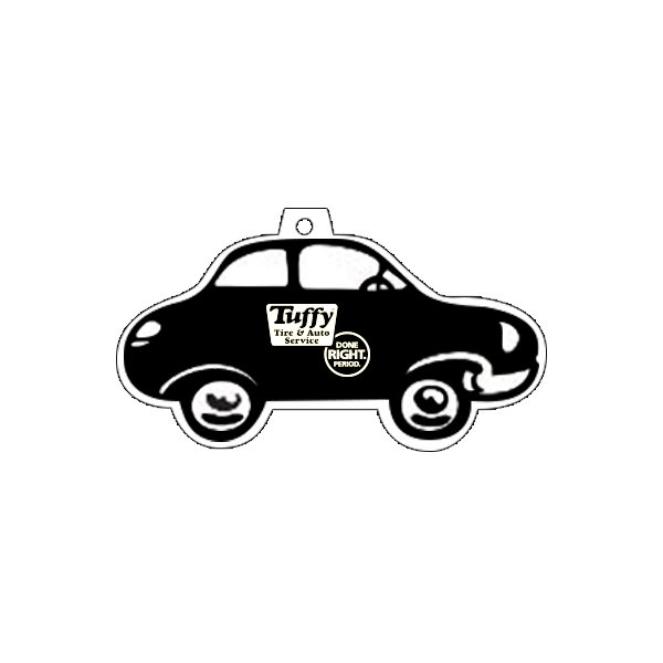 Tuffy Car Shaped Paper Air Freshener-1 color