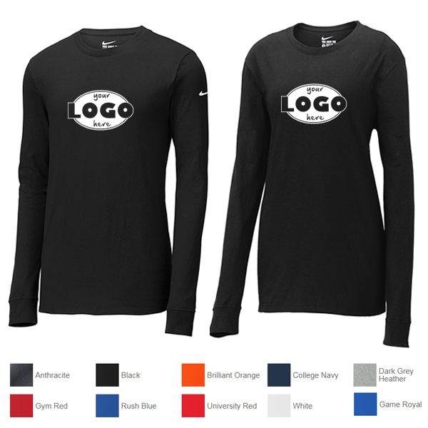 50eac96e Nike Core Cotton Long Sleeve Tee