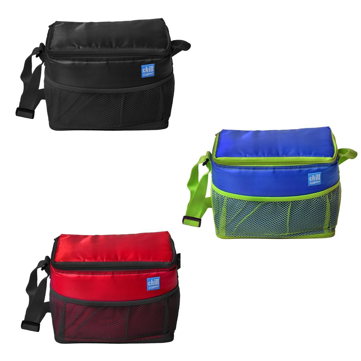 Coolers That You Can Freeze ~ Chill by flexi freeze can cooler w mesh pockets